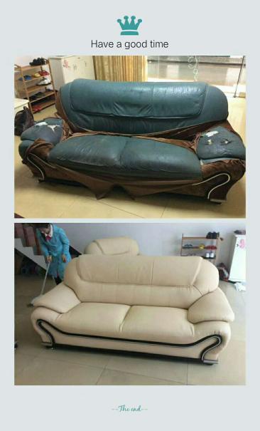 潮州皮沙发修理优质服务