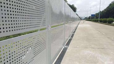 罗湖围挡出售PVC围栏施工围栏