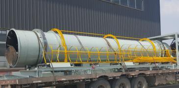 水浴式滾筒冷床 消失模砂處理生產線設備