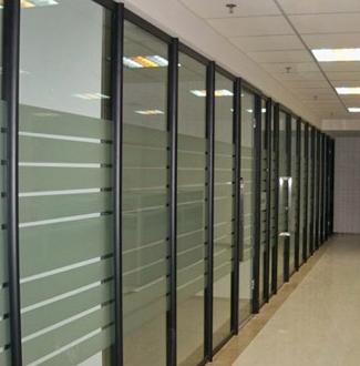 龙华新区不锈钢玻璃隔断