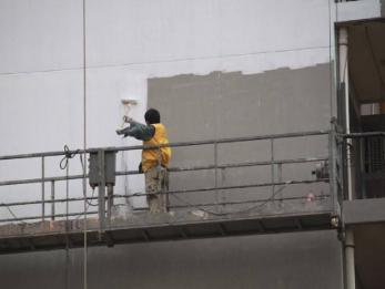海口高空清洗,外墙翻新安全可靠