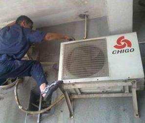 保定空调维修加氟清洗