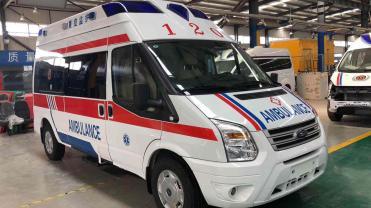 阳江私人救护车出租电话是多少?