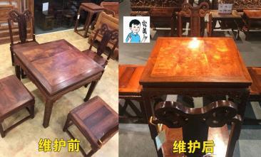 红木家具维修_枣庄红木家具保养清洁_专业安心