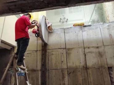 揭阳楼板切割免费现场勘查