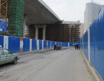龙华市政围挡制作安装一站式服务