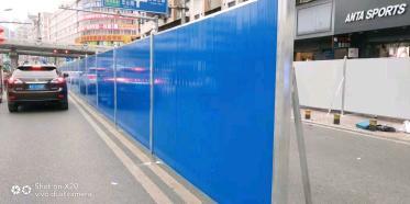 龙华市政围挡便于运输和储存