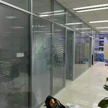 天河区办公室玻璃隔断 隔音效果良好