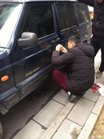汽车锁怎么开不损坏车