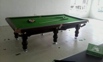 漯河台球桌安装选购台球桌时应该注意的几点