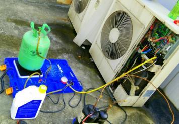 孟州空调加氟-专业各类品牌空调加氟利昂