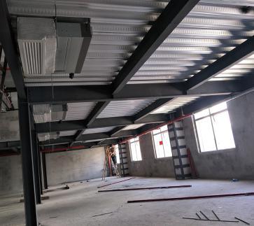 深圳永兴隆大型钢结构工程结构选型与结构布置