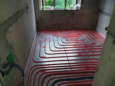 南充地暖安装施工细节