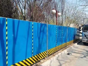北京景观式轻钢活动围墙,围挡好帮手