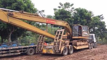 惠州挖机出租 发生问题解决办法,摸和试