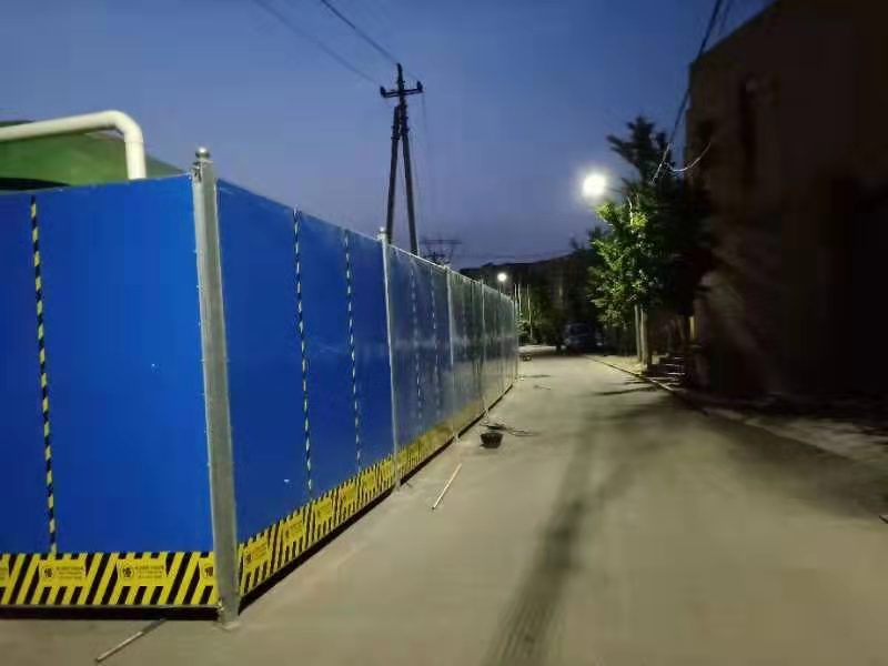 北京工地围挡厂家产品抗风能力强