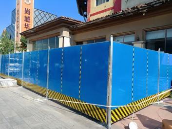 北京高质量彩钢围挡租赁