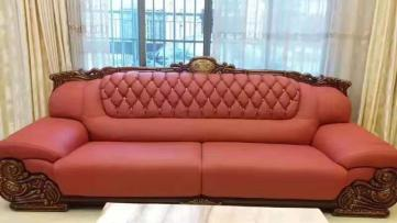 真皮沙发翻新保养以及清洗服务