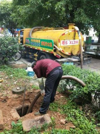 常平清理化粪池 解决厨房下水道堵塞的办法