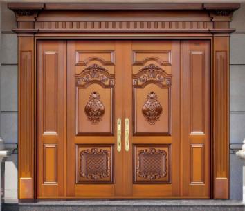 唐山双兴专业安装铜门仿铜门