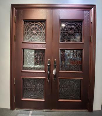 唐山安装别墅铜门