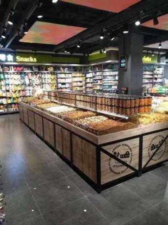 驻马店超市水果货架生产商 尺寸如何选择