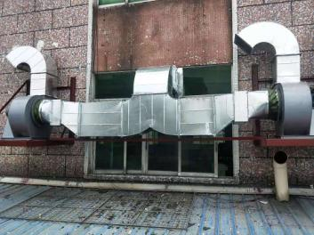 佛山厨房通风管道安装