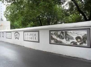 慈溪宣传文化墙客户为先
