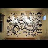 宁波高档墙绘壁画文化墙