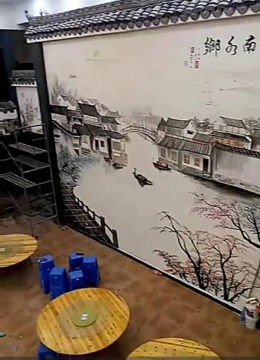 慈溪李老板对公益文化墙设计思路