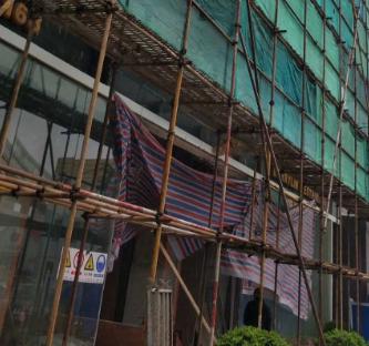 上海宝山区优质高效脚手架搭设