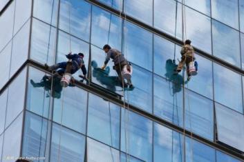 珠海高空玻璃清洗作业是什么