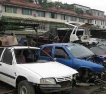 广州报废车回收公司大量回收报废车