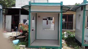 江门住人集装箱安装焊接箱活动房