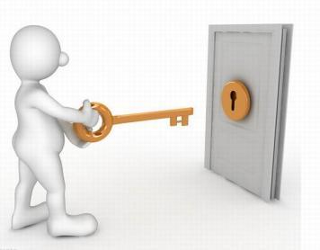 锁生锈打不开怎样办