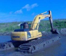 东莞水上挖机出租24小时派车