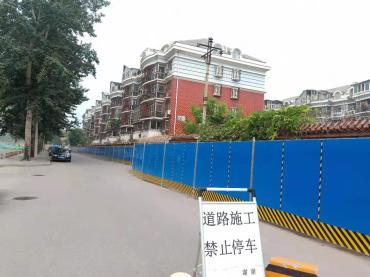 北京围挡租赁的围挡安装要注意啥