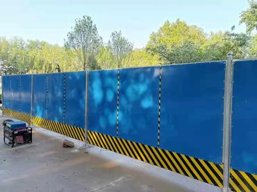 北京彩钢板围挡专业出售