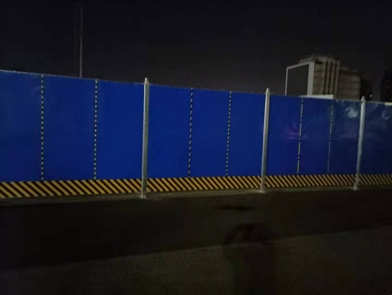 北京彩钢围挡外观设计新颖优点多