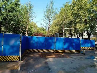 北京施工围挡出售_PVC围挡出售