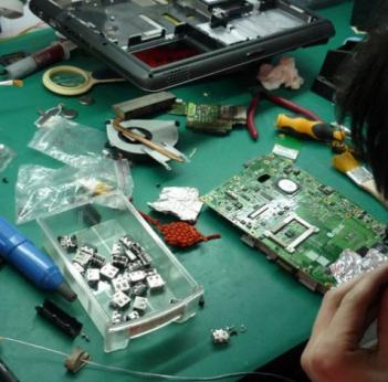 【泸州电脑维修】解决台式电脑及笔记本黑屏