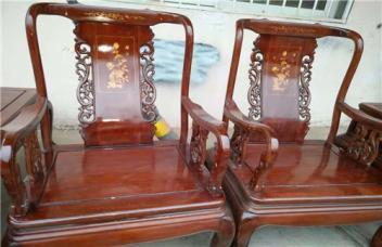 扬州维修红木家具出现的各种问题