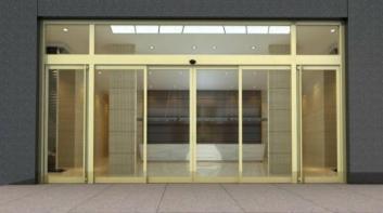 贵阳感应门安装机械结构和基本组件