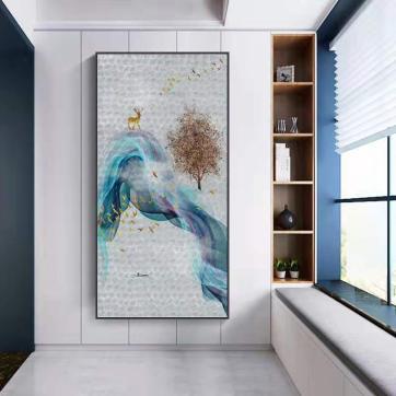 贝壳镶嵌的艺术背景墙分类和用途
