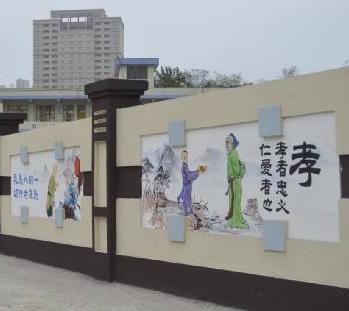 墙体彩绘的发展