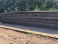 山东专业租赁垫路钢板
