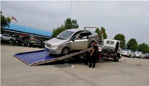 救援对于拖车的正确操作