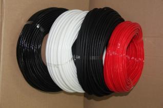 供应黑色外胶内纤套管4000v