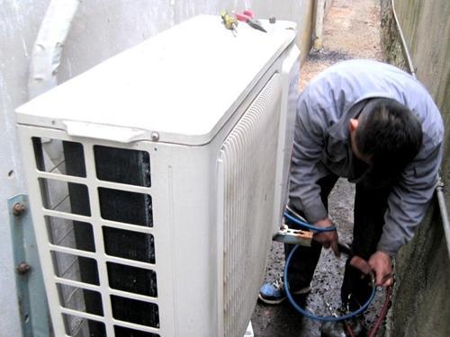 永康鸿福空调拆装回收公司