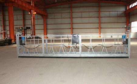 电动吊篮的悬吊渠道及其焊接工作